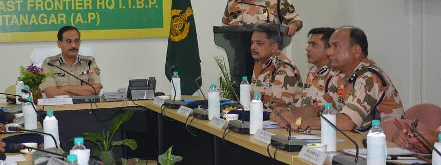 The maiden Frontier Level Commander's Conference-2019 held at the ITBP North East Frontier Headquarters (NE-FTR HQ) in Itanagar on Friday