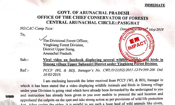 A day after EM story, Arunachal cracks down on wild animal sellers