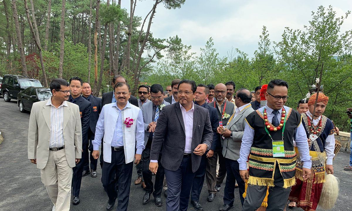 Meghalaya CM Conrad K Sangma all set to visit Arunachal tomorrow