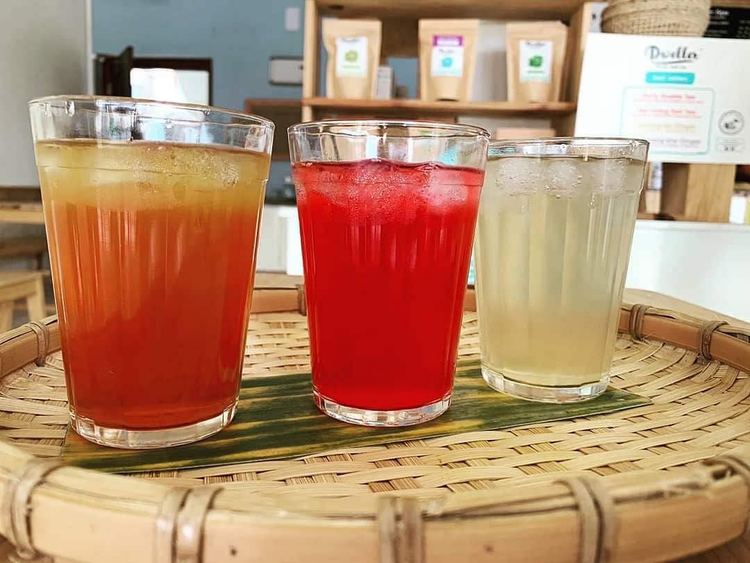 Dweller Teas uses eco-friendly materials for service at the cafe