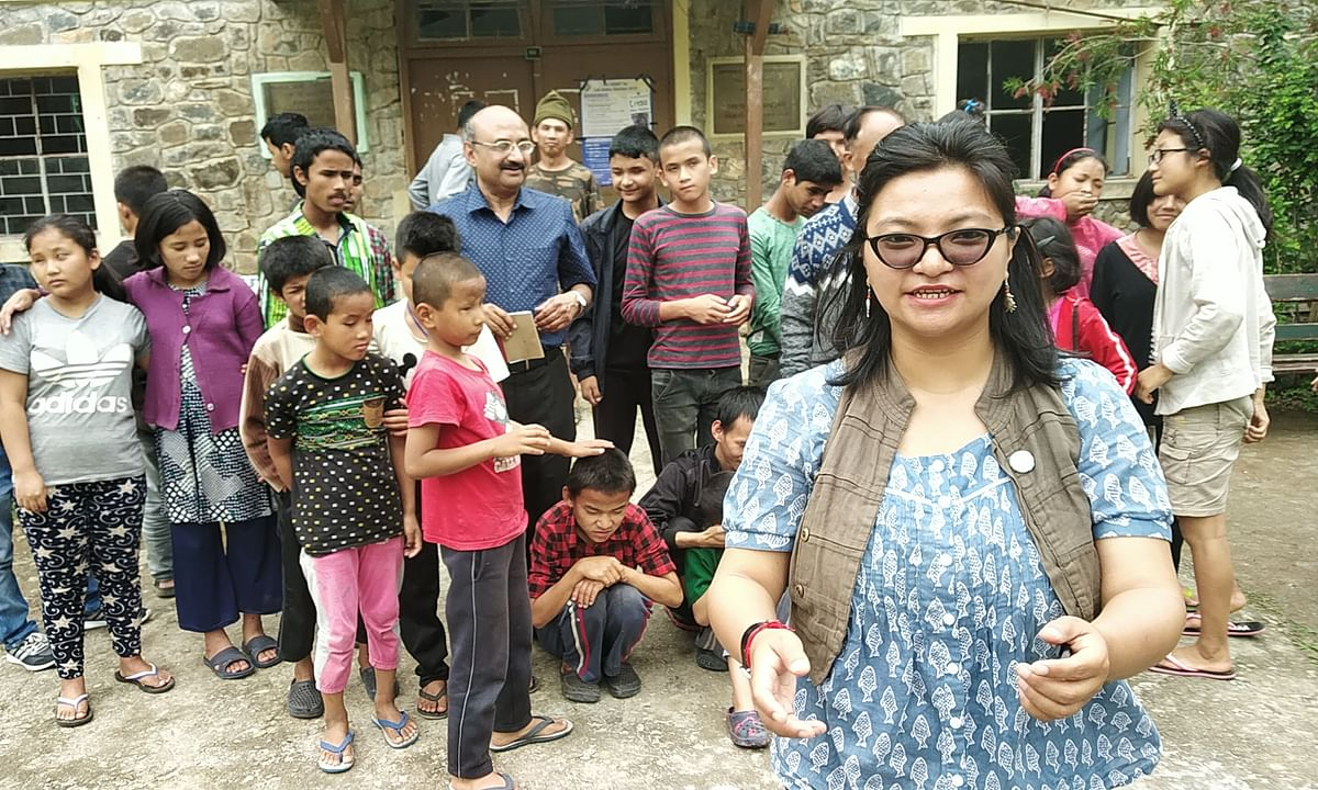 How a Darjeeling woman is giving 'voice' to Teesta river's woes
