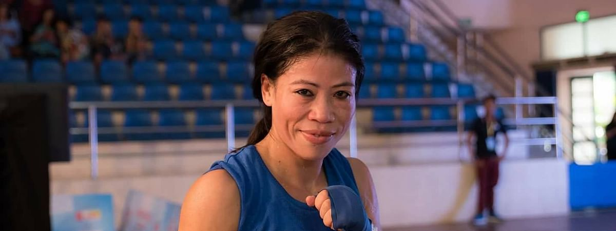 With the Olympic qualification around the corner, Mary Kom is working hard these days to repeat her performance in the 51 kg category