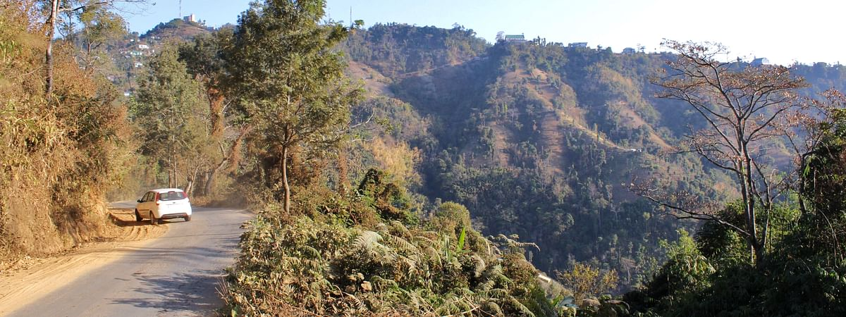 Kawnpui village is located along the border of Tripura and Mizoram