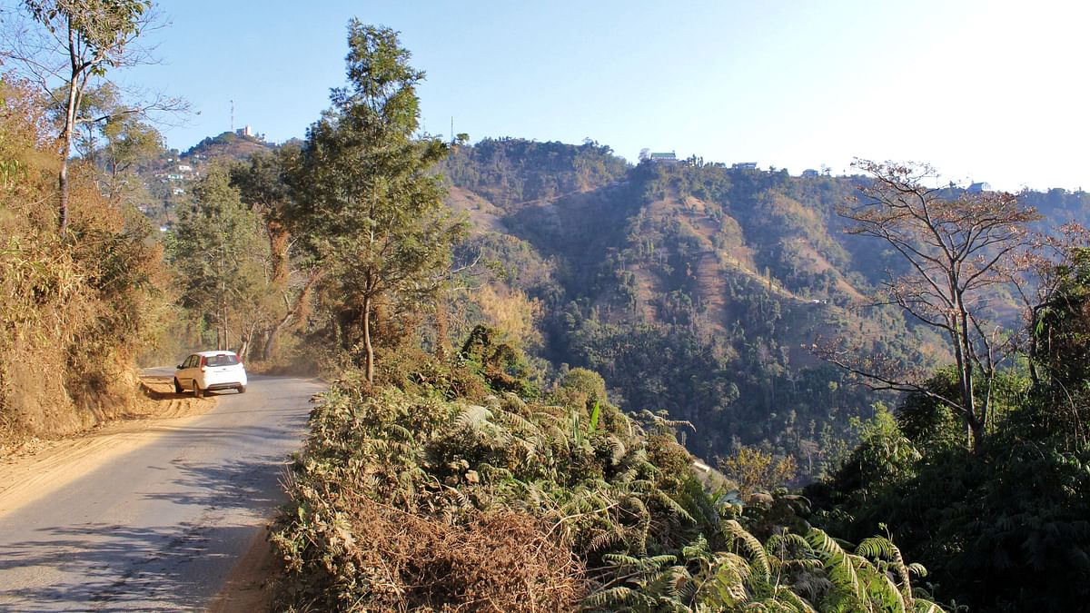 Phuldungsei village is located along the border of Tripura and Mizoram