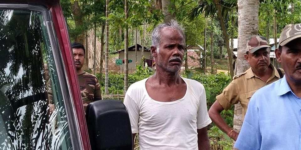 Dulal Ghatawal, who was arrested in Nagaon for illegally drawing electricity from high-powered domestic lines to set up electric fencing on his land