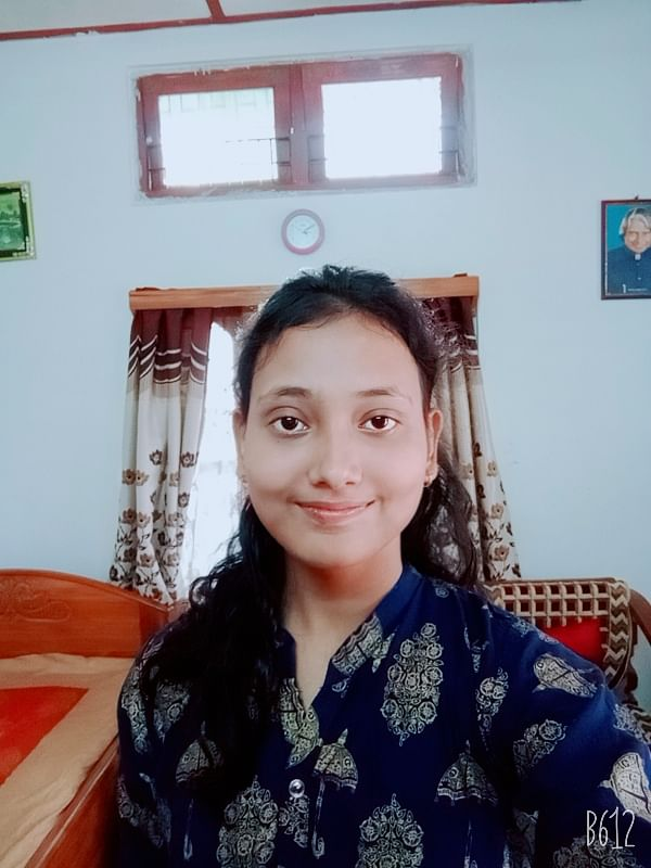 Priyanka Kalita from Assam Jatiya Vidyalaya, Noonmati, Guwahati also secured fifth position with 589 marks