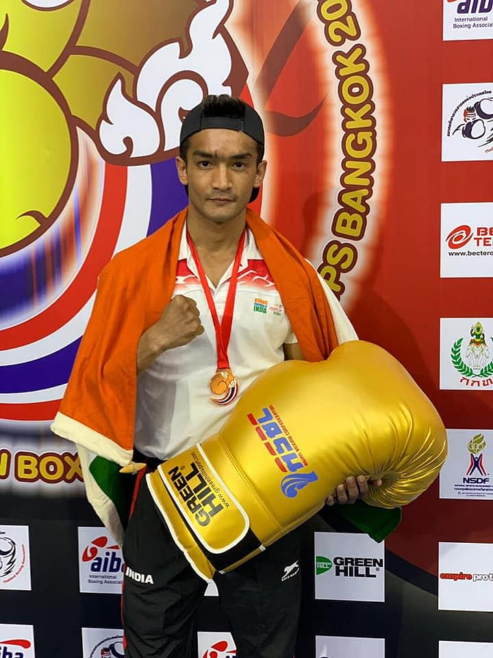 Shiva Thapa's bronze made him the only Indian boxer to have won four medals at the Asian Championships held in April