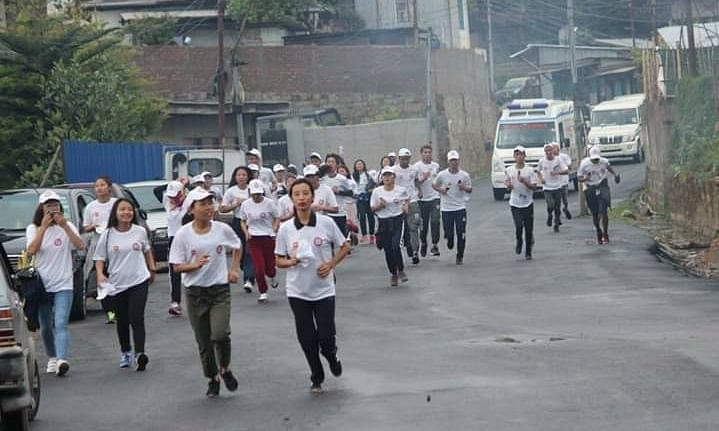 Nagaland: Inter Govt College Olympic games flagged off in Kohima