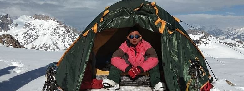Johny Laltlanmawia reached the top of the world's highest peak along with six mountaineers around 7.50 am on May 16