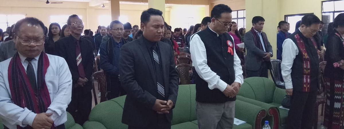 The 29th edition of Hmar Martyrs' Day being observed at the Ramhlun Indoor Stadium in Aizawl, Mizoram