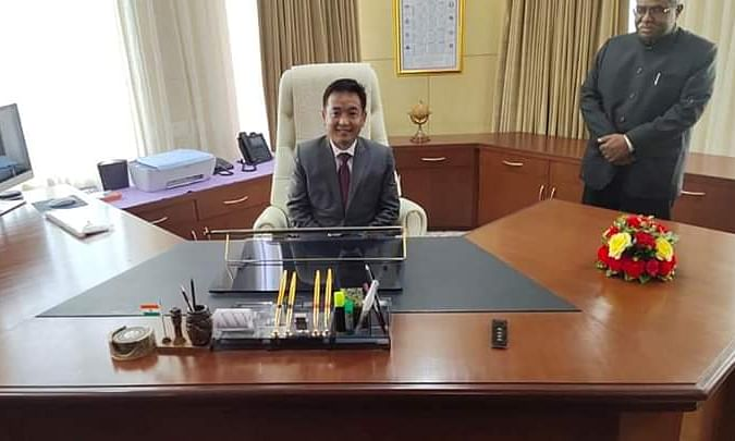 WATCH: PS Golay sworn in as new Sikkim CM, ends SDF's 25-yr rule