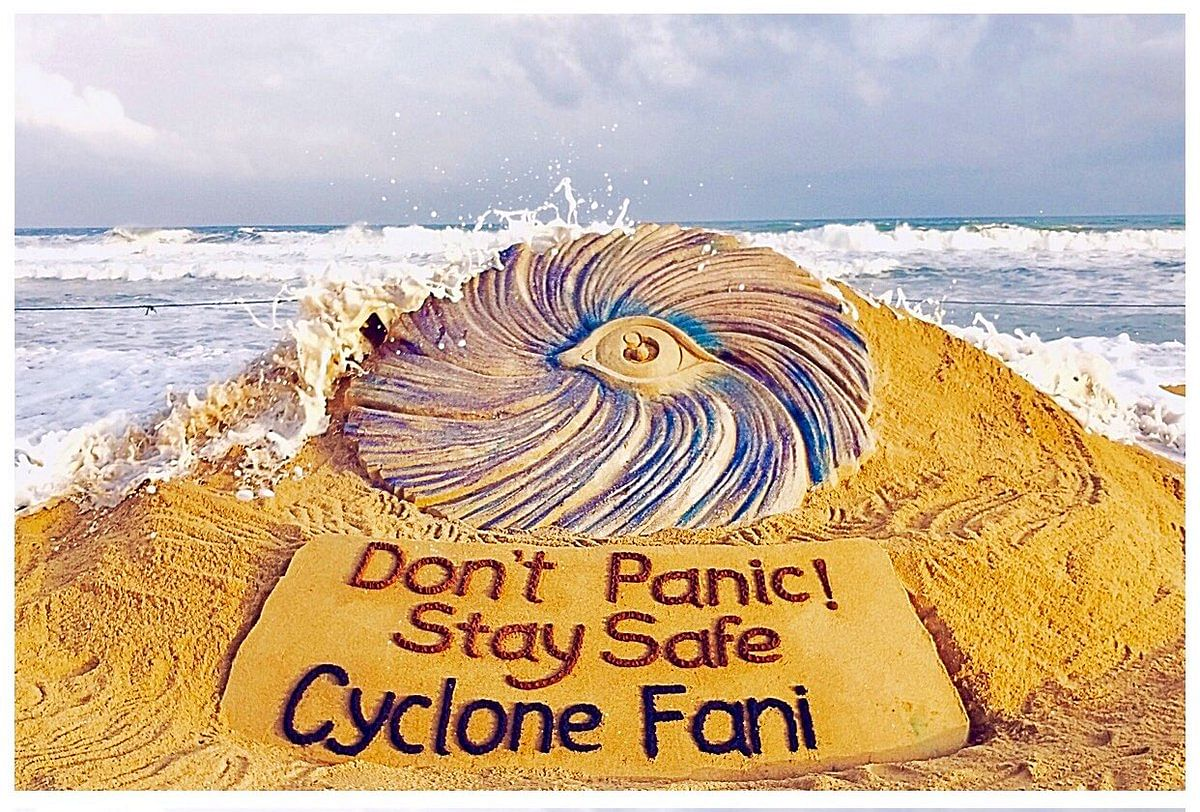 Renowned sand artist Sudarsan Pattnaik appeals people to stay calm during the time of crisis