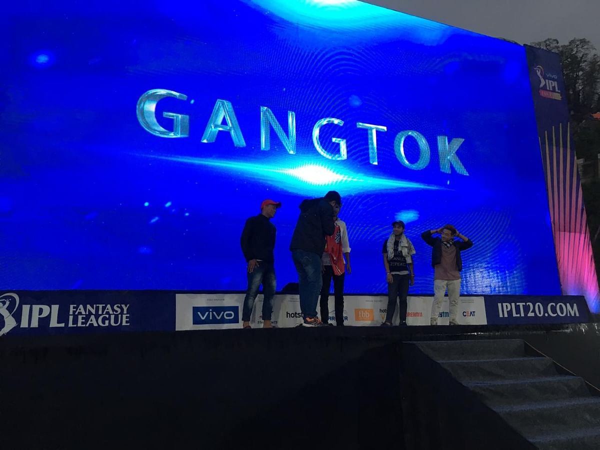 Gangtok is the latest city to get the IPL's coveted 'Fan Park' experience