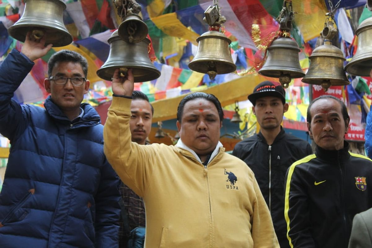 BJP's Neeraj Tamang Zimba won the Darjeeling assembly by-polls with a margin of 46,538 votes