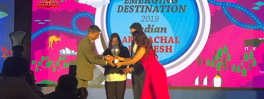 The award was received by Kezleen Kholie, an image consultant and corporate trainer, on behalf of the state's tourism department