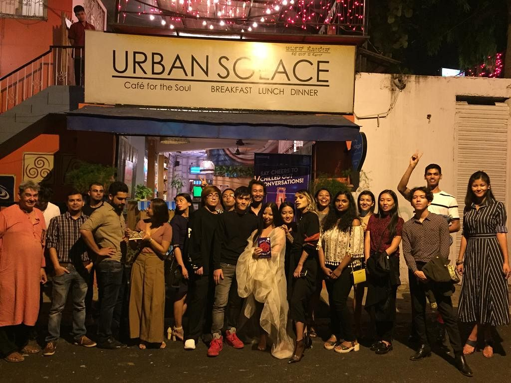 On May 19, Regina Gurung organised a book launch at Urban Solace in Bengaluru and made the event a community-driven reunion