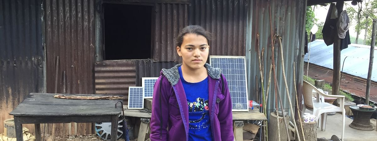 Momita Karki, 16, aptly proved that there are no secrets to success, except hard work
