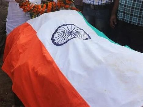 Assam SSB jawan, who died of heat stroke in Rajasthan, cremated