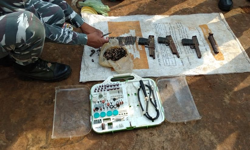 Country-made arms racket busted in Tripura
