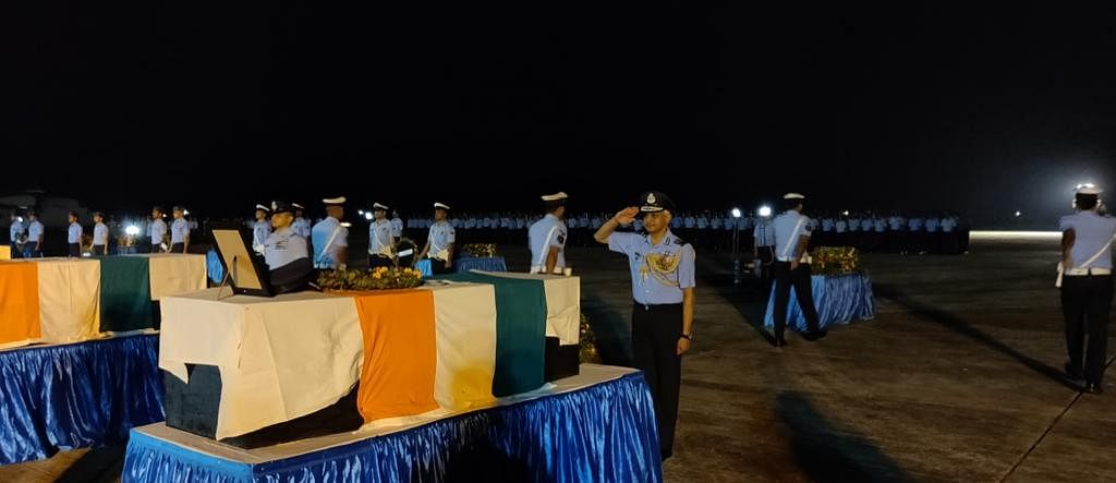 LEST WE FORGET: IAF officials pay tribute to the 13 air warriors who lost their lives in the line of duty in Arunachal Pradesh on June 3
