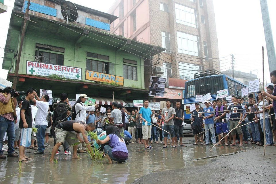 A few years ago, people took to the streets in protest against the deplorable road conditions in the state under the 'Mission Potholes' initiative