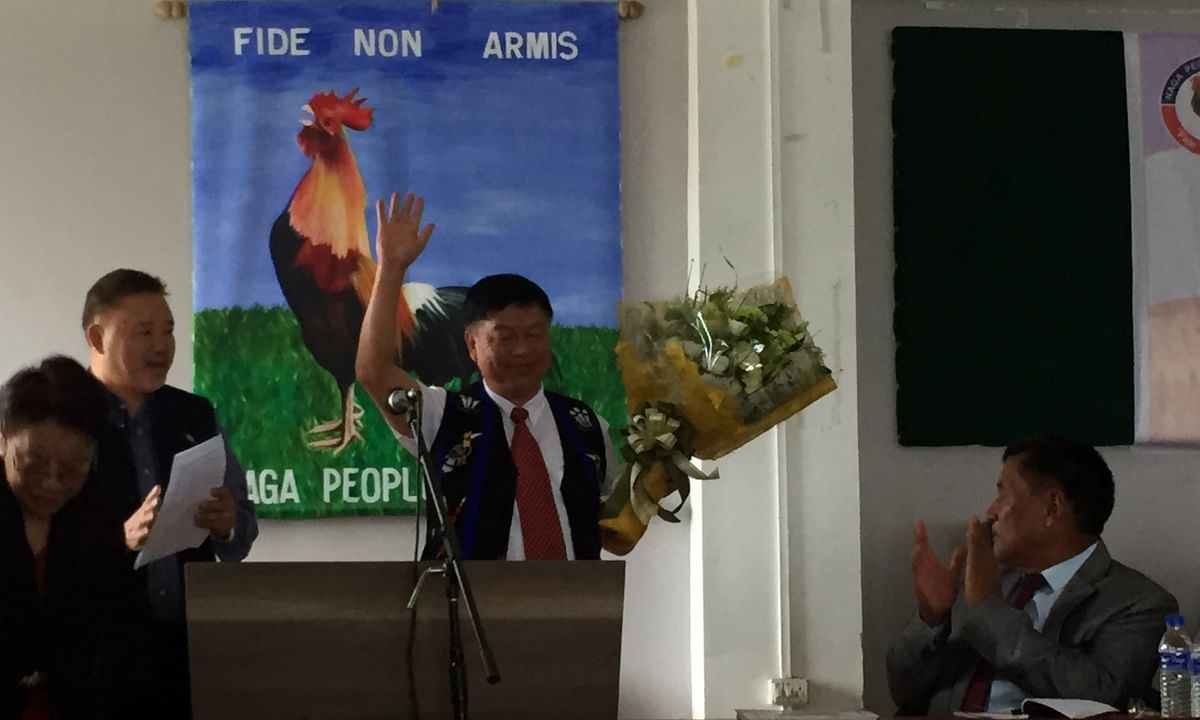 New Manipur MP Lorho S Pfoze feted by Naga People's Front