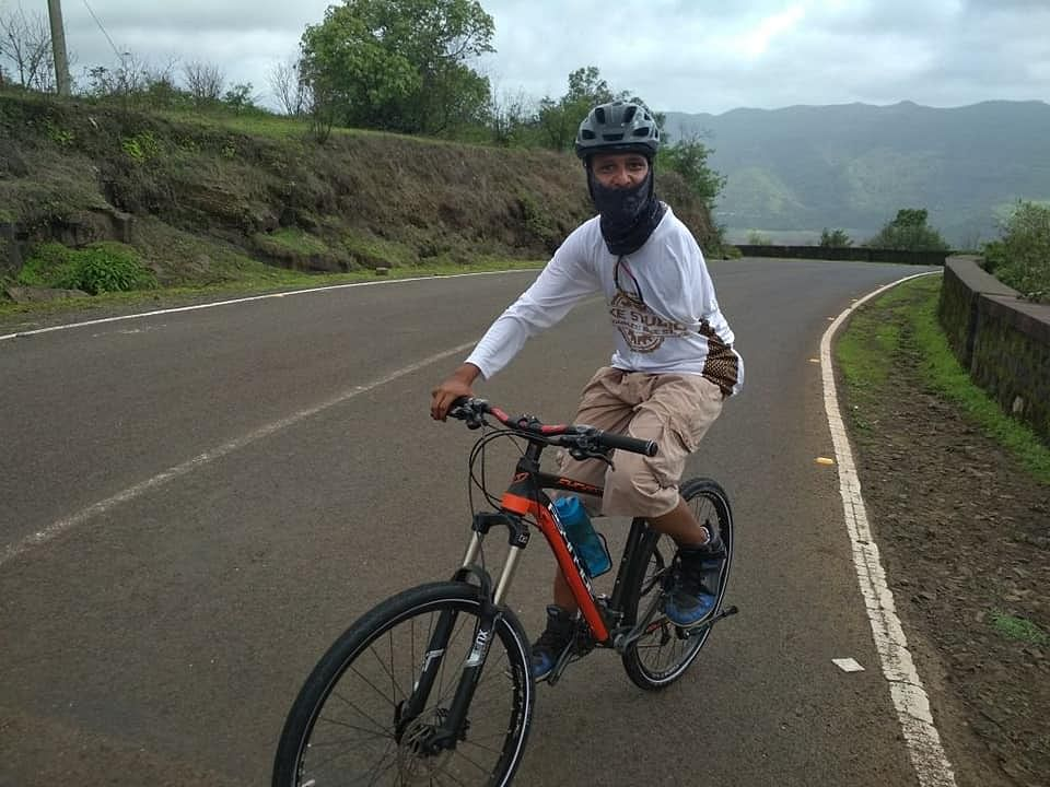 Meet one-armed cyclist Rachit Kulshrestha who beat cancer twice