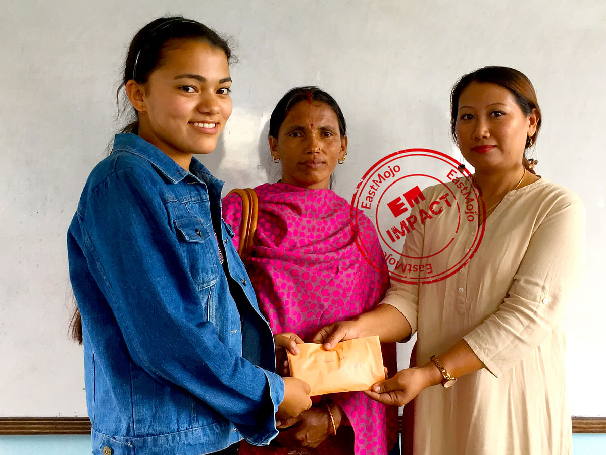 Milkman's daughter who topped Nagaland exam gets aid from overseas