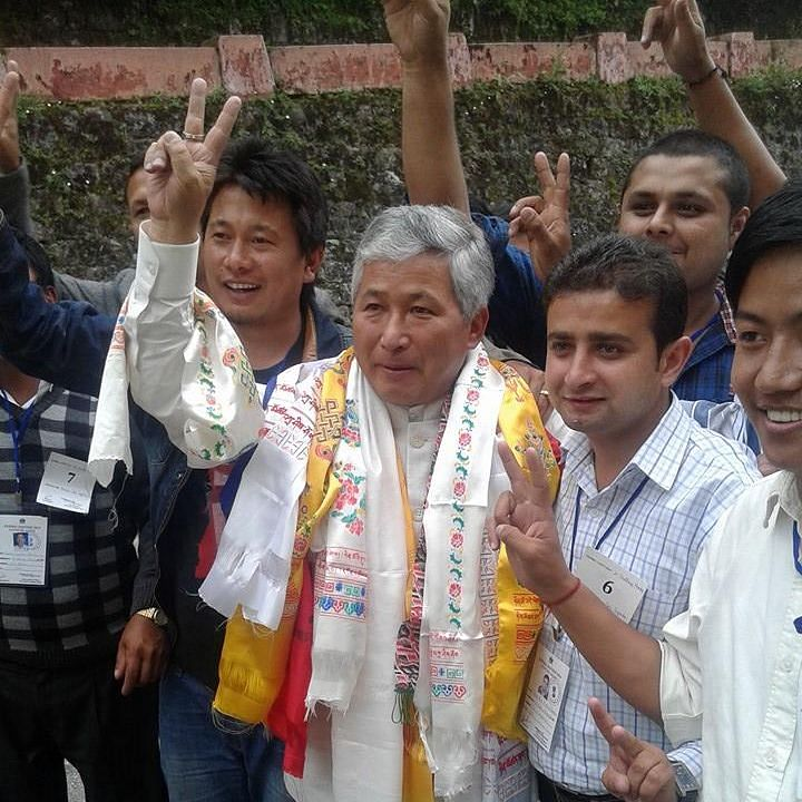 DT Lepcha has resigned from Martam-Rumtek constituency and opted to remain as the MLA from Gnathang-Machong