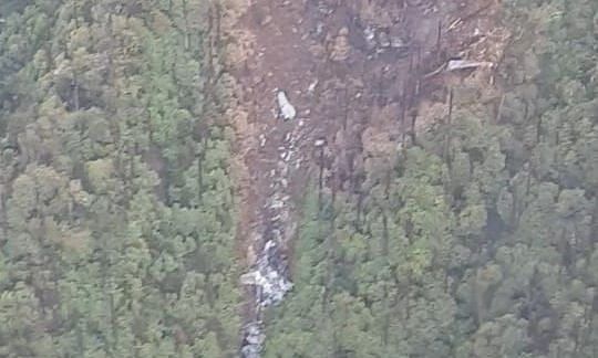 AN-32 aircraft crash: Rescuers still stranded at site in Arunachal