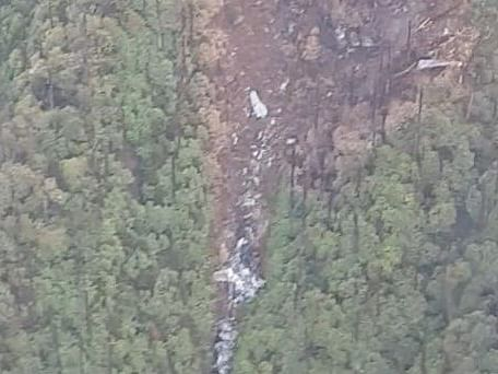 WATCH: First aerial video of IAF's AN-32 crash site in Arunachal