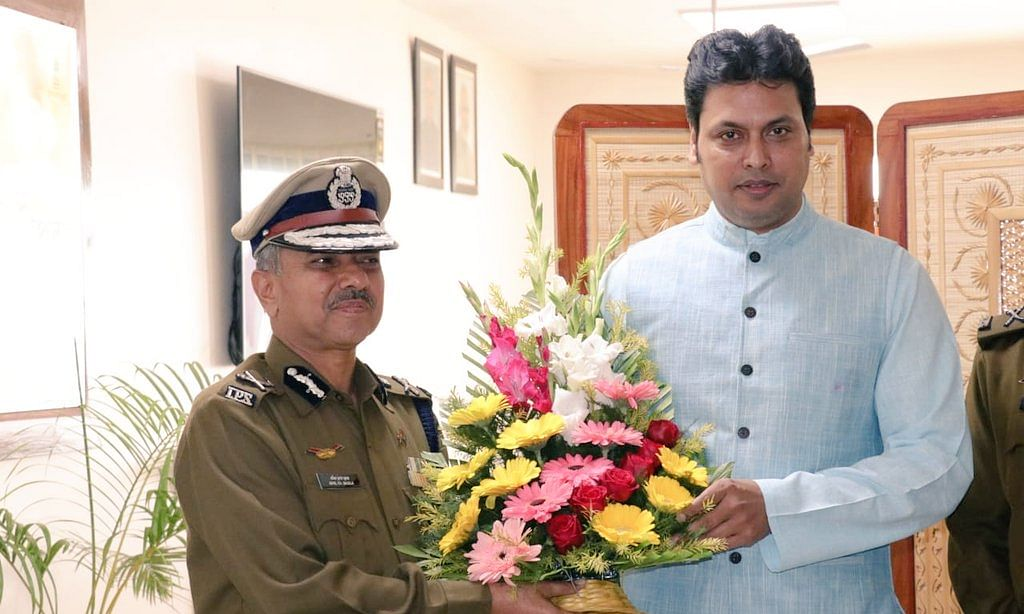 Tripura: After dropping minister, CM sends top cop on long leave