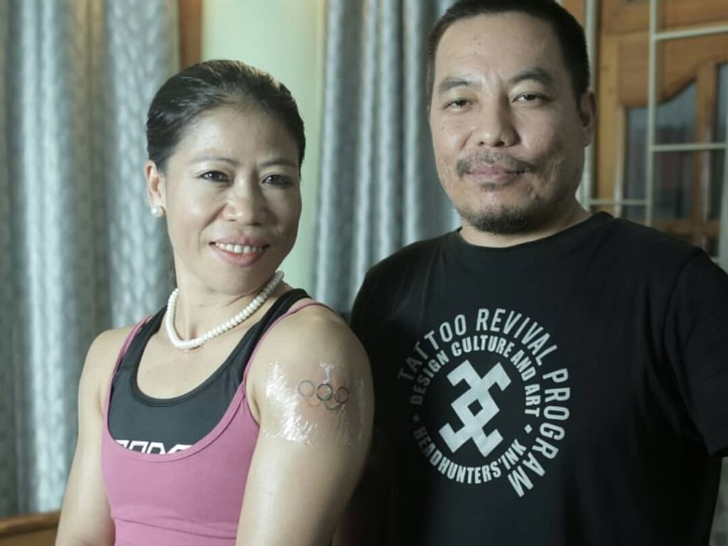 Mary Kom gets life's first tattoo, targeting Tokyo 2020 Olympics