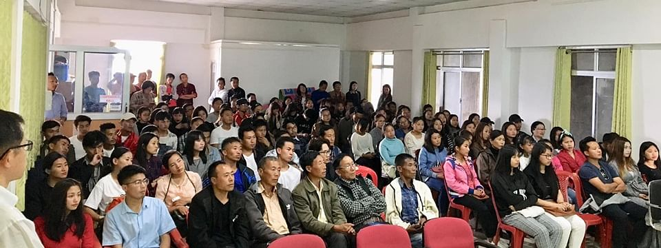 Scores of people attended the workshop on 'Technical Intern Training Program' in Ukhrul, Manipur