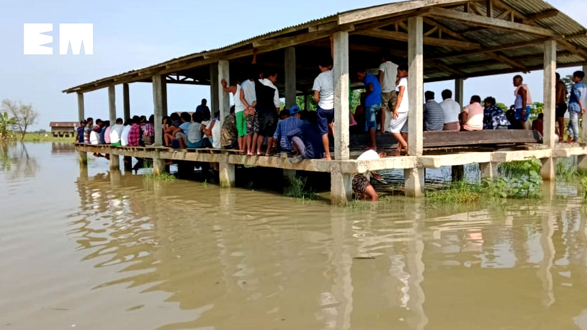 Altogether six revenue circles have been affected in Assam due to the recent floods