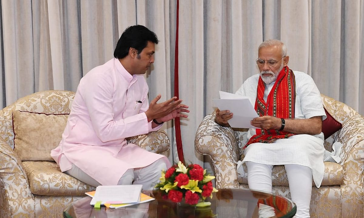 Tripura CM demands increase in Central share for state development