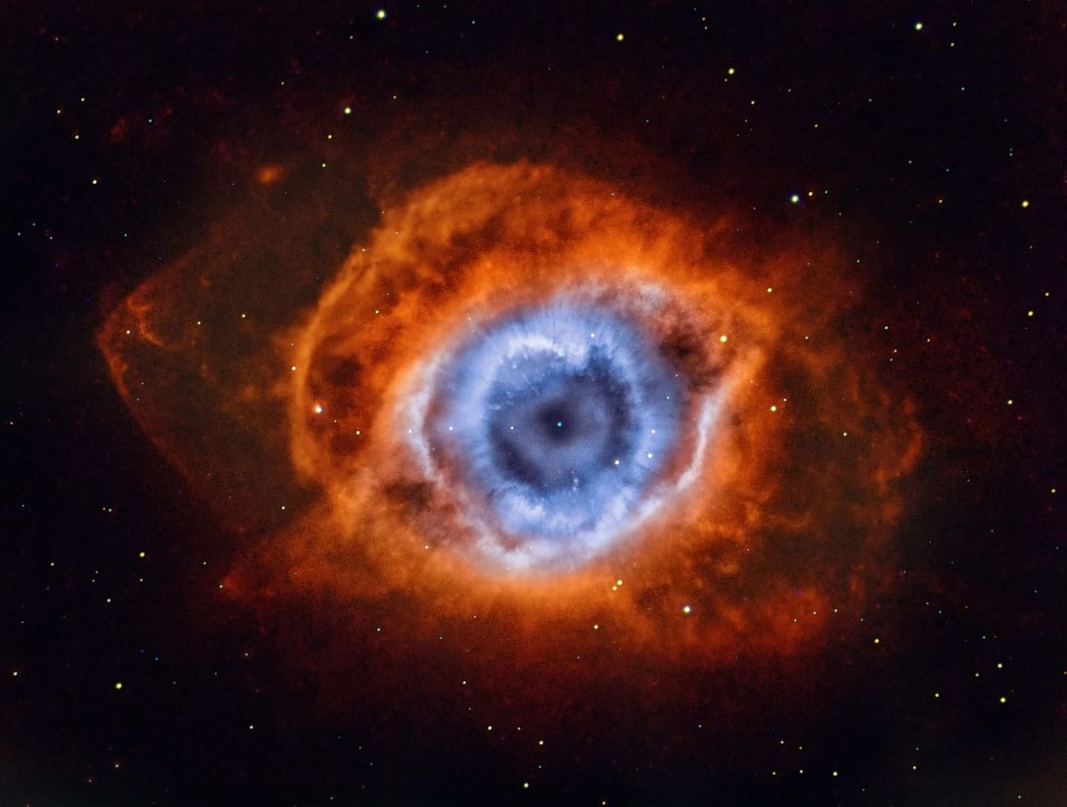 Deep in the Heart of Mordor - NGC 7293