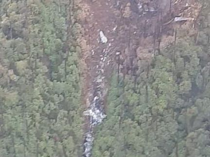 IN PHOTOS: First visuals from AN-32 wreckage site in Arunachal