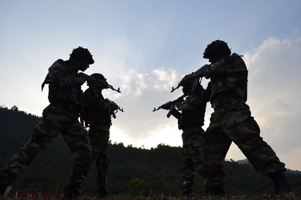 The site of the encounter between Assam Rifles personnel and insurgents in Nagaland's Mon district on May 25