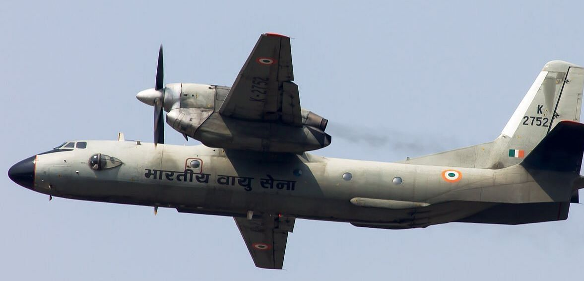The ill-fated AN-32 aircraft of the Indian Air Force (tail no. K 2752) in happier times