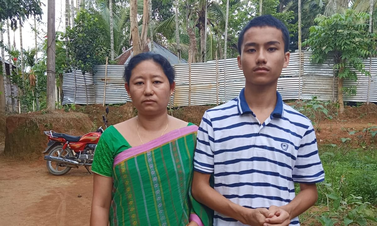 Class XII: Learning has no age bar, show mother-son duo in Tripura