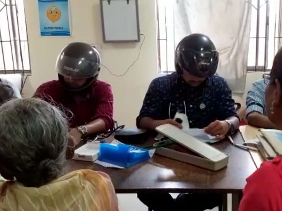 Why Tripura docs wore helmets to attend to patients during strike