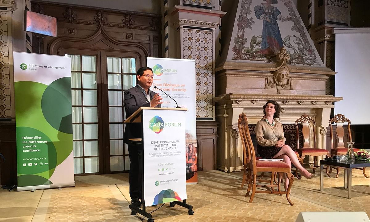 Caux Forum, Switzerland: Conrad Sangma puts Meghalaya on world map
