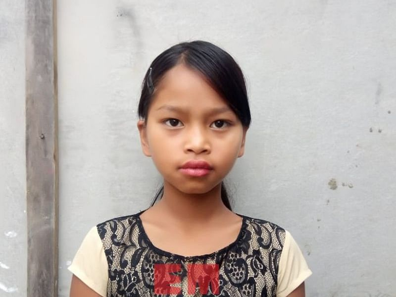 Mizo girl, who saved child from kidnappers, honoured by President