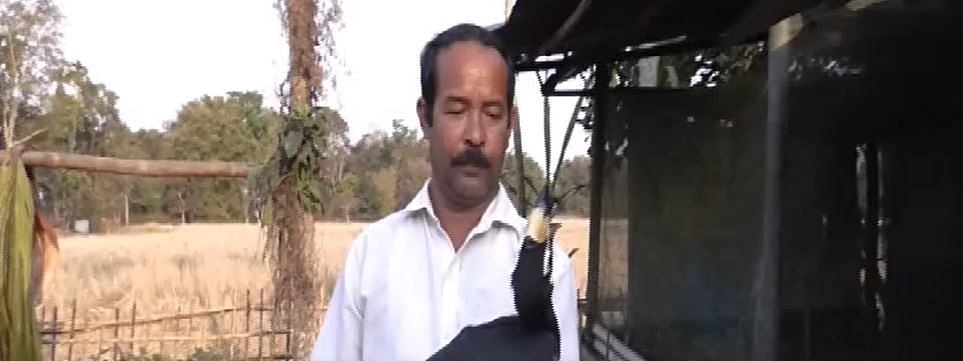 Bharat Bora is a resident of a remote village in Moran area of Dibrugarh district
