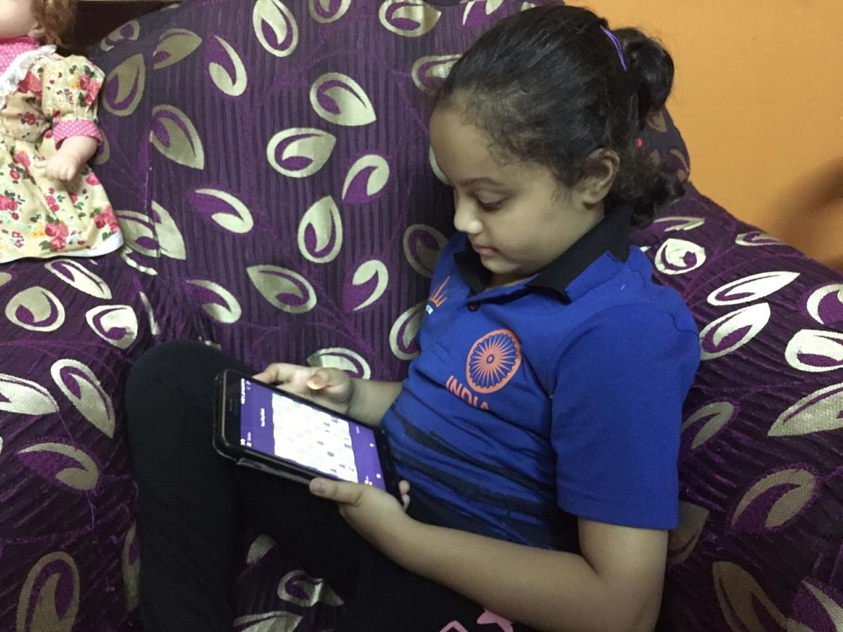 Arshiya spends about 7-8 hours daily to undertake training and online classes