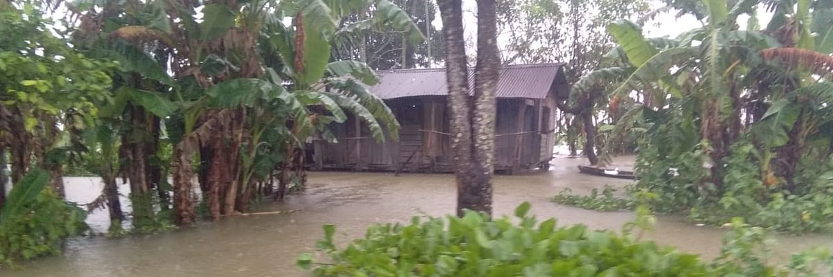 20 villages inundated in 1st wave of floods across Assam
