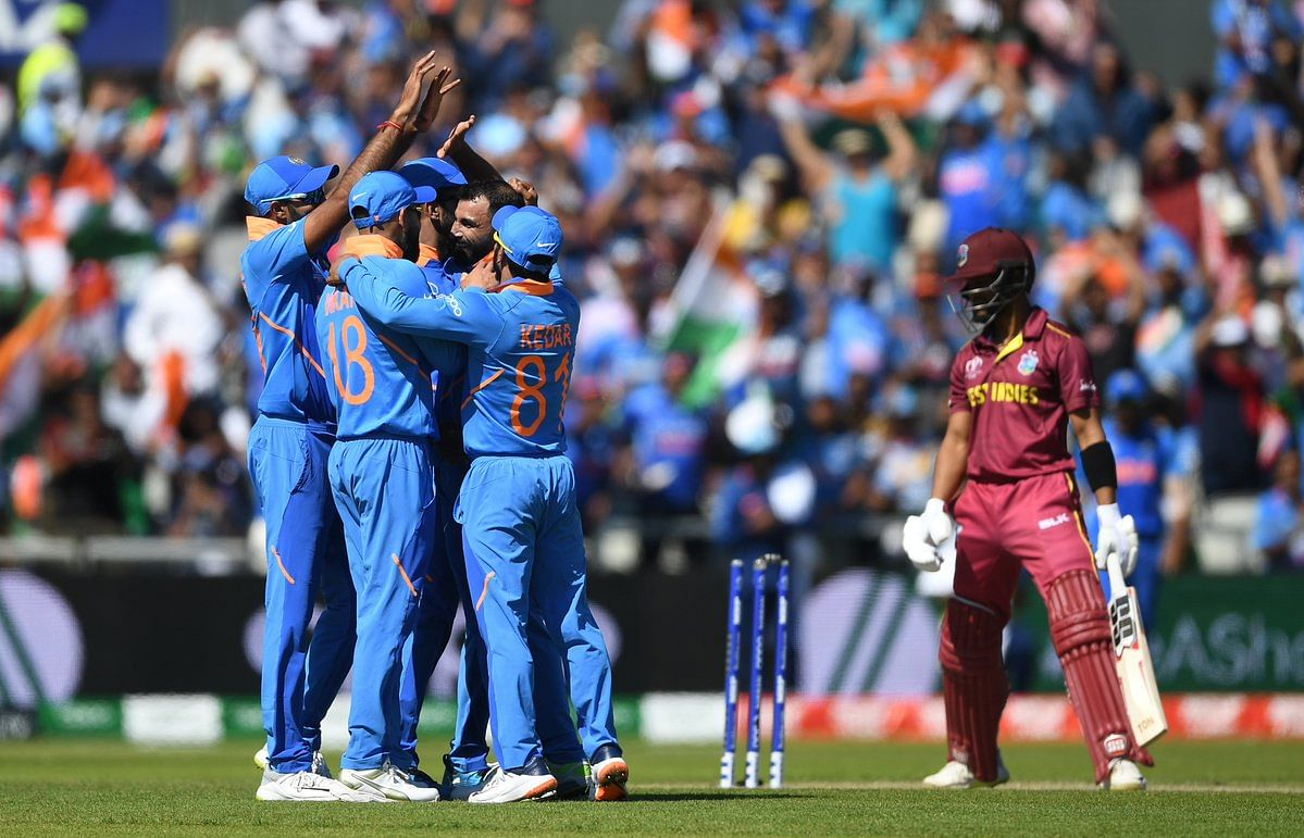 Team India defeated West Indies by a margin of 125 runs