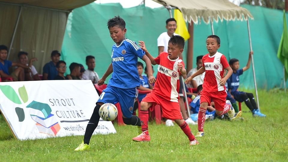 Six teams from across Ukhrul in Manipur are competing in the Ukhrul FC Baby Cup