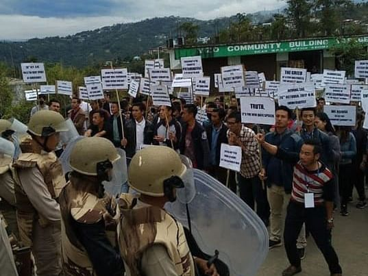 Nagaland: Public service aspirants take to Twitter over SSB demand